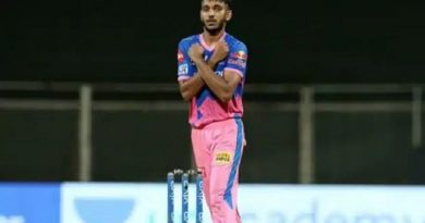 राजस्थान रॉयल्स के तेज गेंदबाज चेतन सकारिया के पिता की कोरोना से मौत, टीम ने कहा-मुश्किल समय में हम साथ हैं